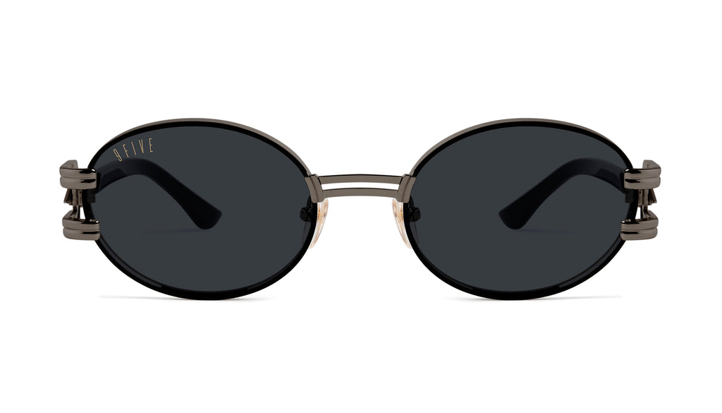 ⚡9FIVE St. James Bolt⚡Gun Metal Sunglasses
