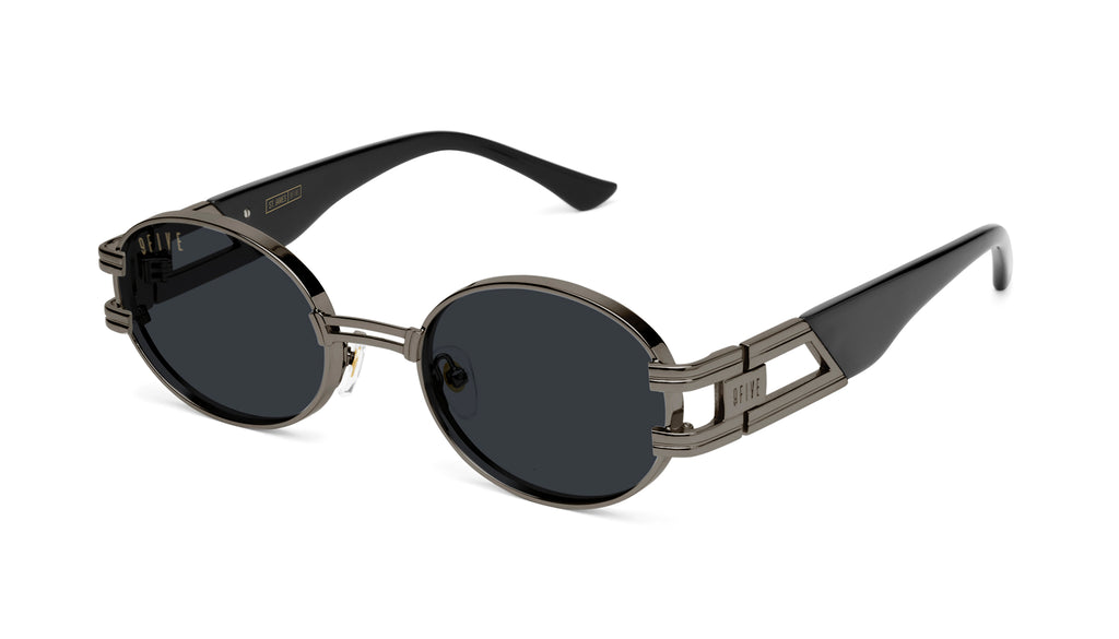 9FIVE St. James Gun Metal Sunglasses