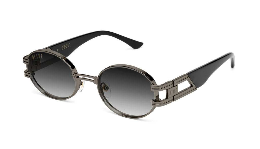 9FIVE St. James Gun Metal - Gradient Sunglasses