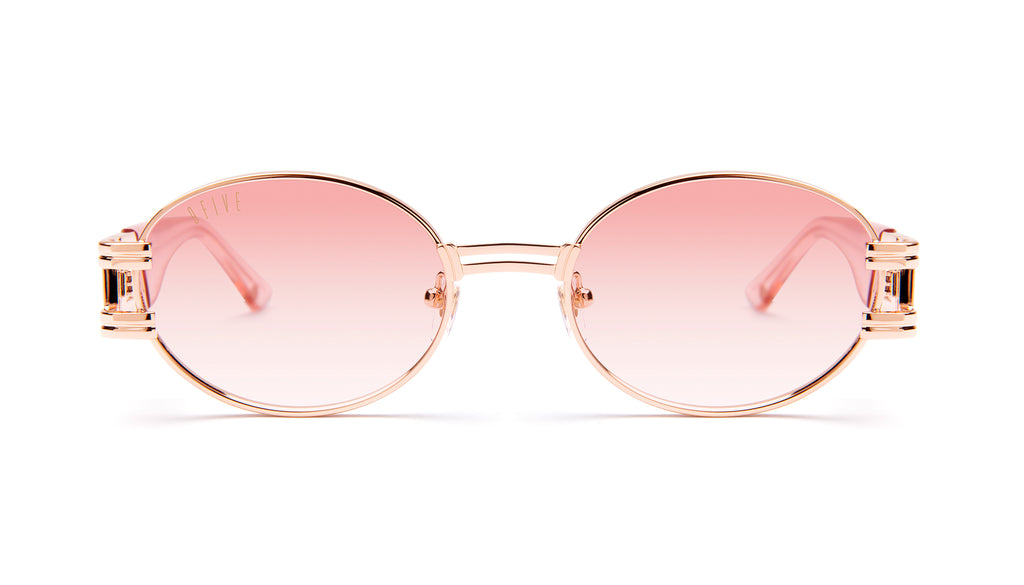 9FIVE St. James Rose Gold - Rose Gradient Sunglasses