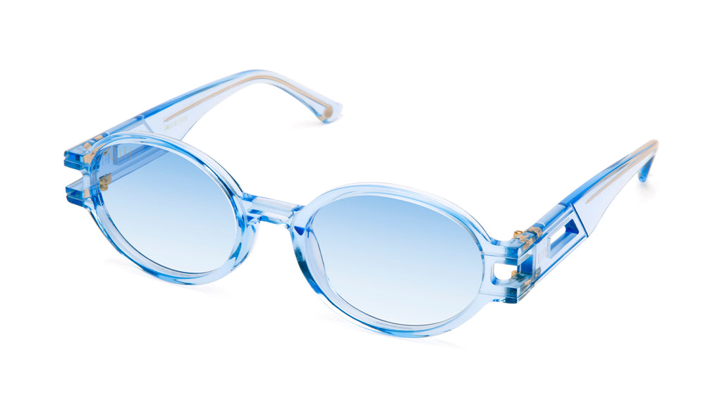 9FIVE St. James SE Crystal Blue - Blue Gradient Sunglasses