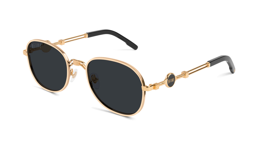 9FIVE St. Michael 24k Gold Sunglasses Rx