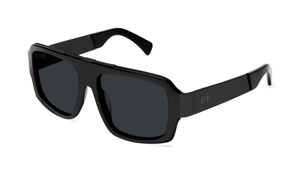 9FIVE Tips LX Matte Blackout Sunglasses Rx