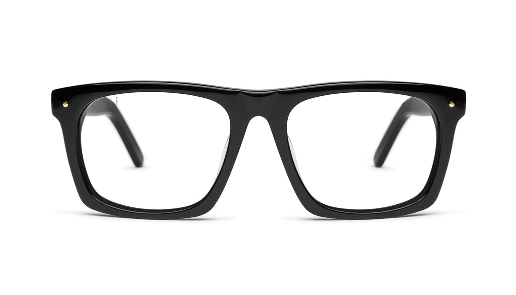 9FIVE Watson Black Clear Lens Glasses