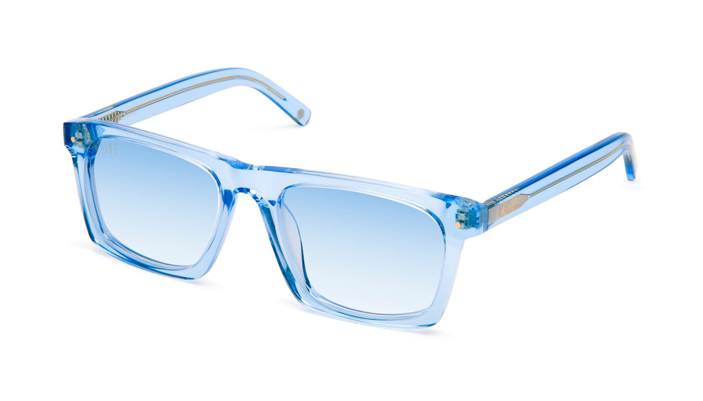 9FIVE One (Watson) Crystal Blue - Blue Gradient Sunglasses