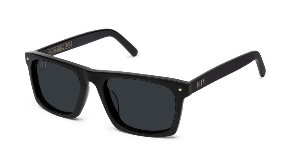 9FIVE Watson Matte Blackout Sunglasses Rx