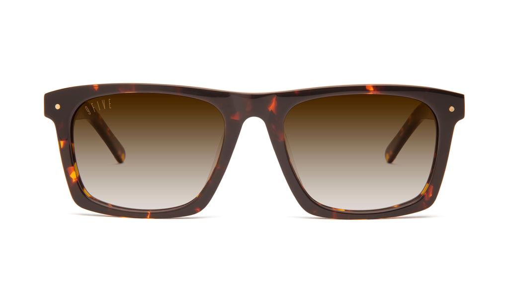 9FIVE Watson Tortoise - Gradient Sunglasses