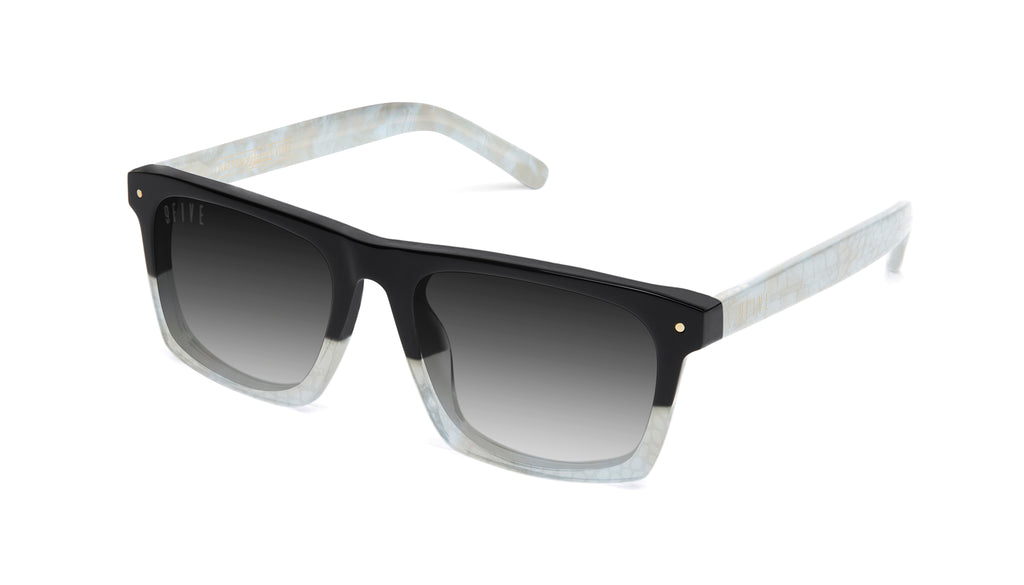 9FIVE Watson Marble Croc - Gradient Sunglasses