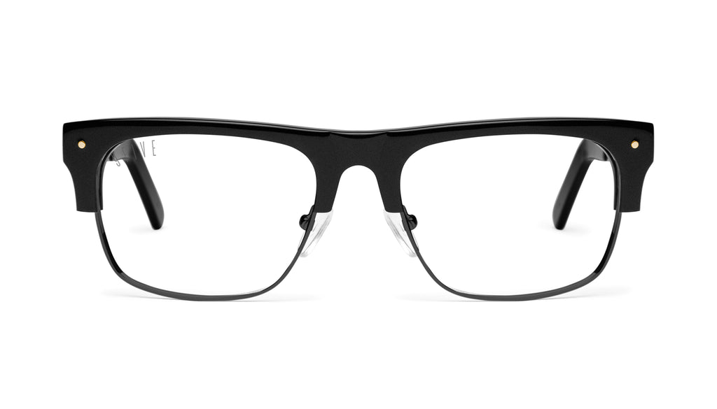 9FIVE Watson 2 Matte Blackout Clear Lens Glasses Rx