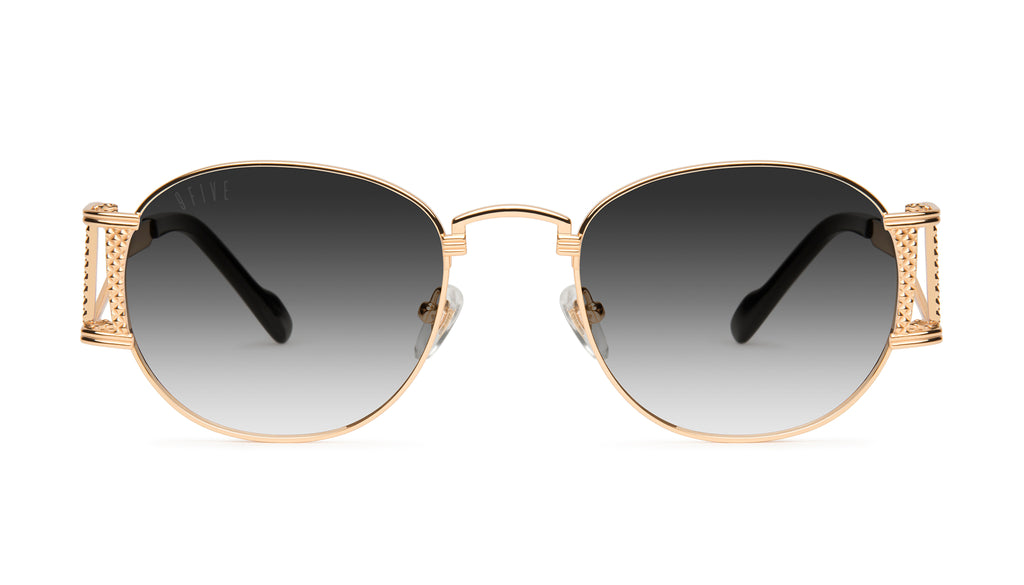 9FIVE Legacy Black & 24k Gold - Gradient Sunglasses