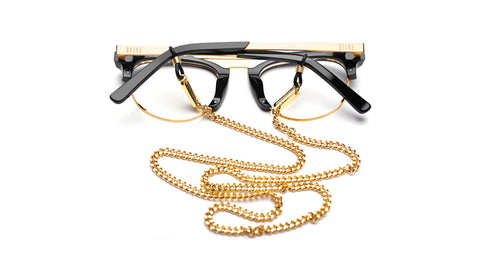9FIVE 24k Gold Micro Cuban Eyewear Lanyard