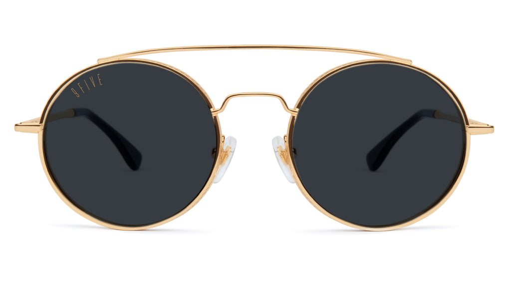 9FIVE 50-50 24K Gold XL Sunglasses