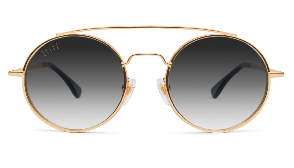 9FIVE 50-50 24K Gold XL - Gradient Sunglasses