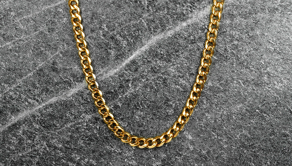 9FIVE 24k Gold Cuban Chain