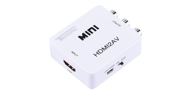 HDMI to RCA Cable HDMI to RCA Converter Adapter | Tendak