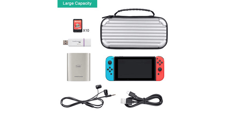 Switch Hard Cover Protective Travel Storage Shell for Nintendo Switch Console | Tendak