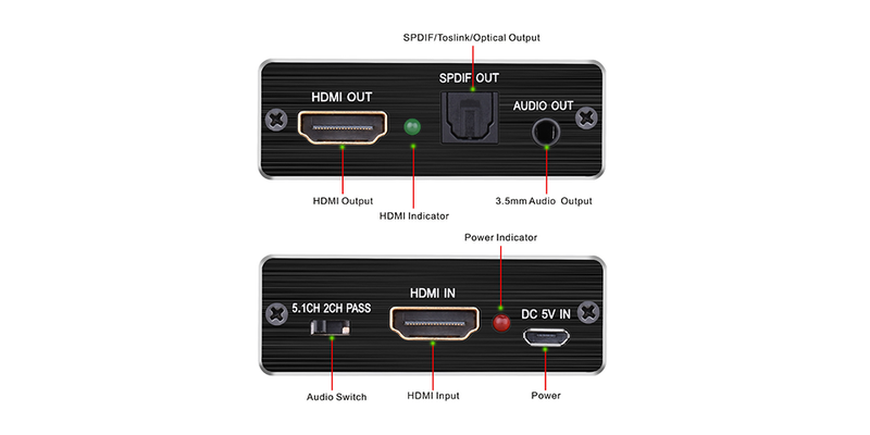 hdmi audio extractor 4k | Tendak