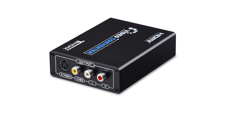 HDMI to S-Video 3RCA AV S-Video R/L Audio Vdieo Converter Adapter | Tendak