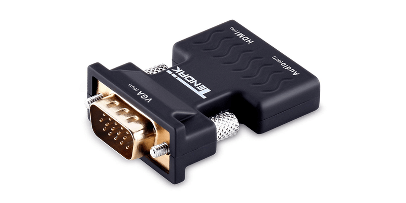 HDMI to VGA, Moread Gold-Plated HDMI to VGA Adapter  | Tendak