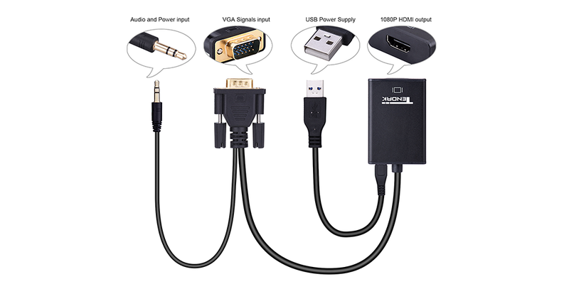 vga to hdmi cable  | Tendak