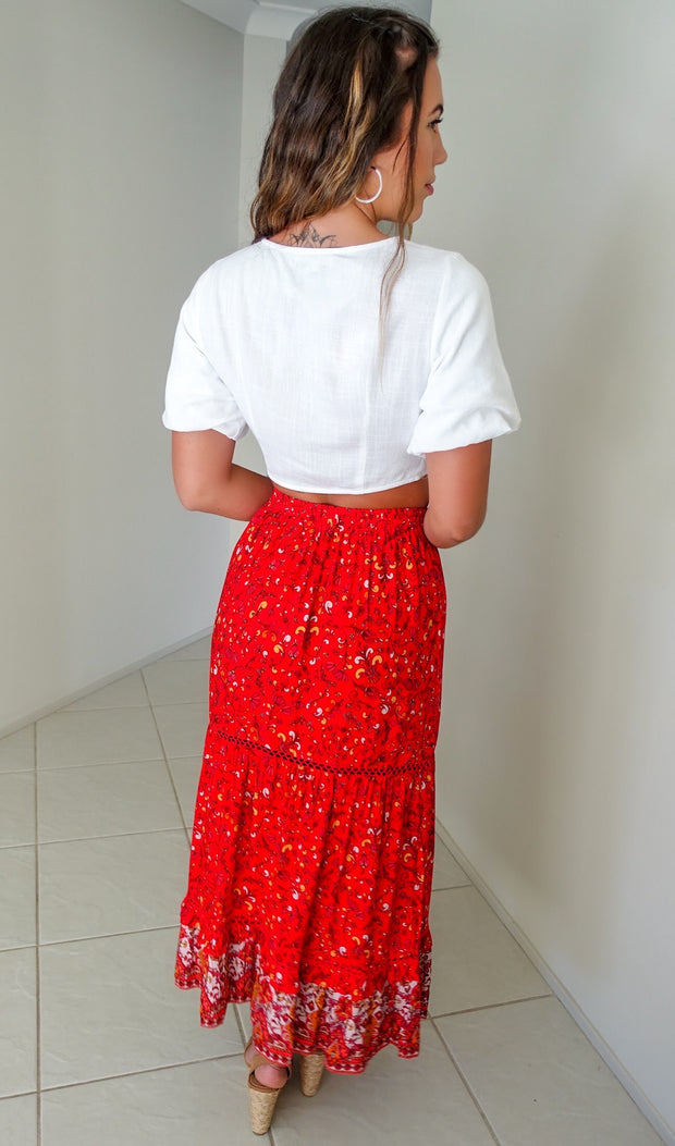 Follow Your Heart Maxi Skirt