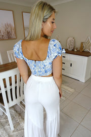 Spring Fling Top in Blue