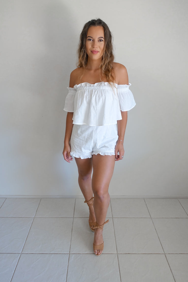 Temple Of Love Playsuit