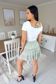 Short & Sweet Skirt Green