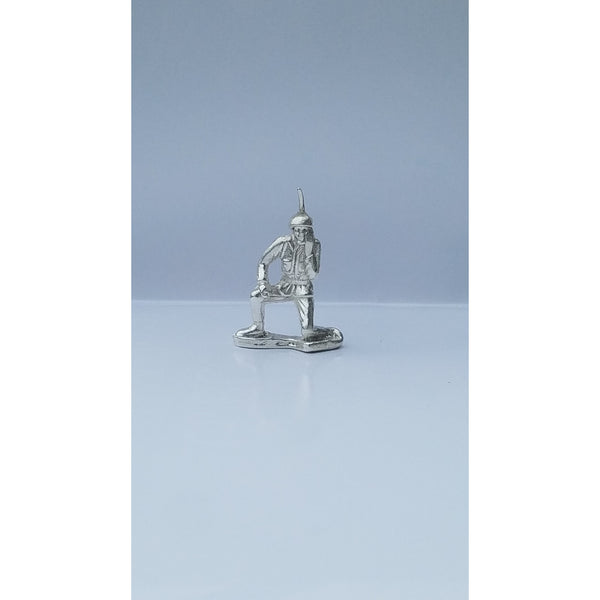 Classic Army Man Radio Man Silver Toy Soldier 1 oz .999 Fine Silver-SILVER ARMY MEN-1776mint