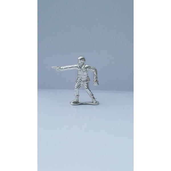 Classic Army Man Sarge Silver Toy Soldier 1 oz .999 Fine Silver-SILVER ARMY MEN-1776mint