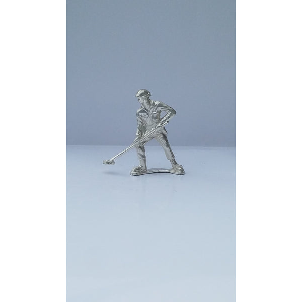Classic Army Man Mine Sweeper Silver Toy Soldier 1 oz .999 Fine Silver-SILVER ARMY MEN-1776mint