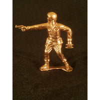 Classic Army Man Sarge Copper Toy Soldier Front