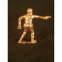 Classic Army Man Sarge Copper Toy Soldier back