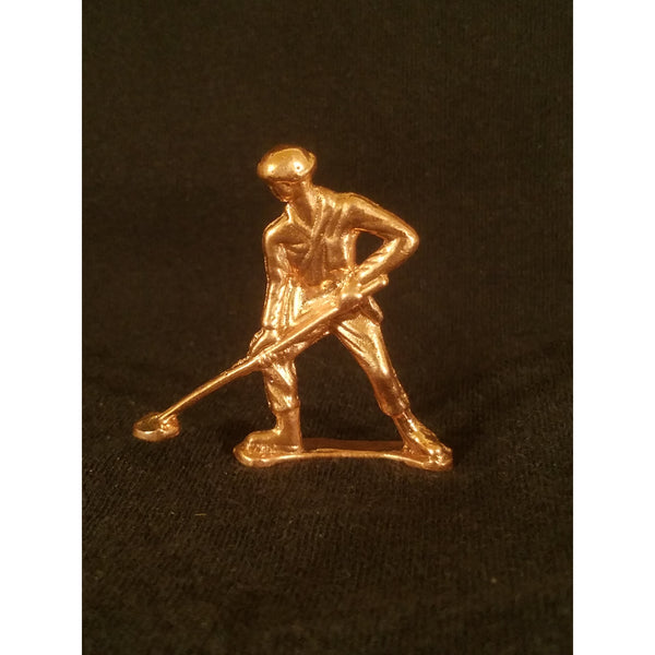 Classic Army Man Mine Sweeper CopperToy Soldier .999 Copper Front