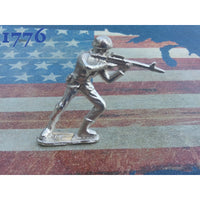 Classic Army Men/soldiers Set Of 10 .999 Silver Silver Army Men
