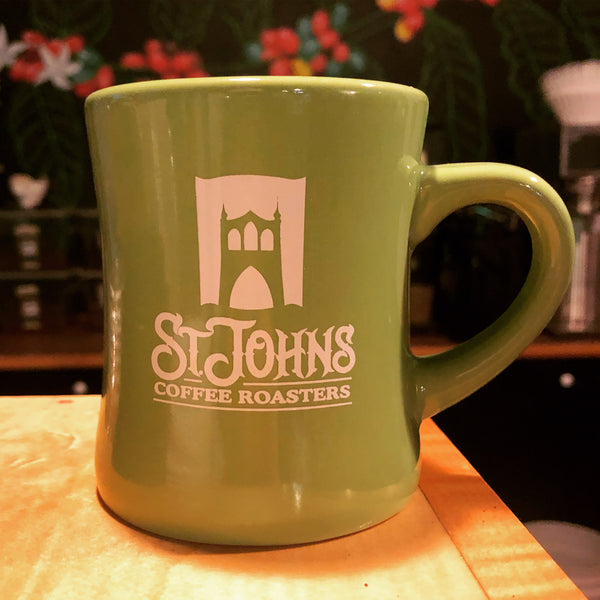 St. Johns Coffee Roasters diner mug