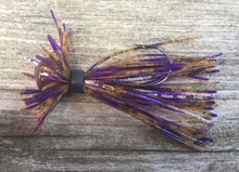 Load image into Gallery viewer, Peanut Butter & Jelly Finesse Jig 1/4 oz. Standard 90 Hook Size 3/0