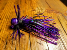 Load image into Gallery viewer, Junebug Skirted Finesse Jig 1/4 oz. Standard 90 Hook Size 3/0
