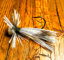 Load image into Gallery viewer, Blue Shad Skirted Finesse Jig 1/4 oz. Standard 90 Hook Size 3/0