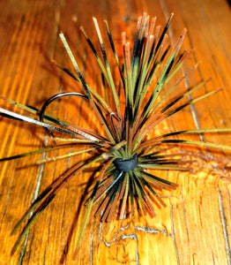 Natural Craw Skirted Finesse Jig 1/4 oz. Standard 90 Hook Size 3/0