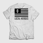 Local Hero Tee Weiß