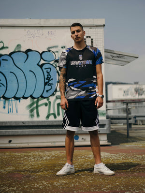 "DT Action Team Trikot - ""ULTRAMARIN"" Urban Camo"