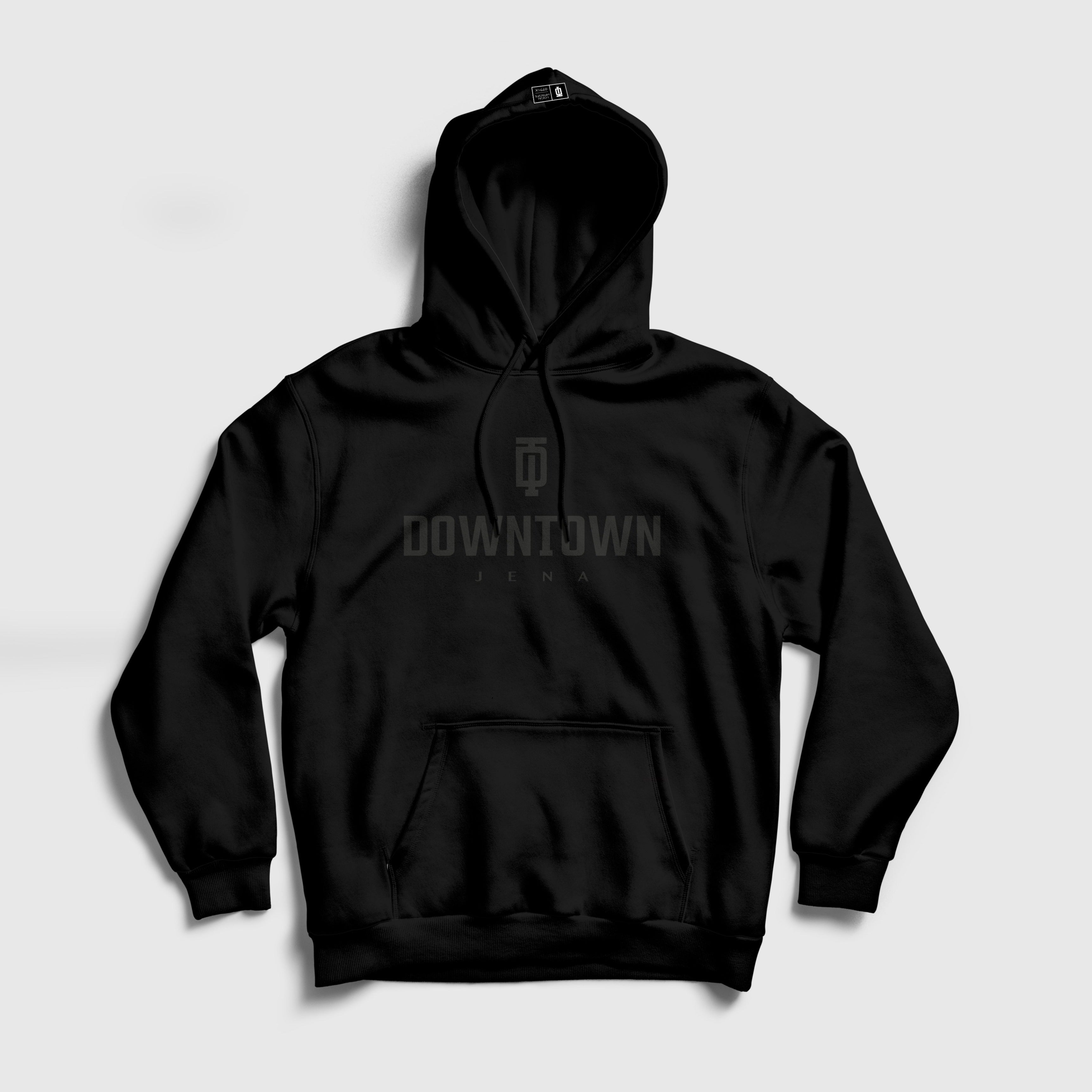 """Understatement"" Fairtrade Hoodie Schwarz"
