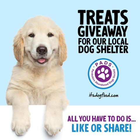 PADS Treats Giveaway Social Image