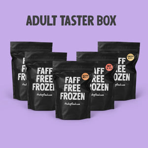 ADULT RAW TASTER BOX