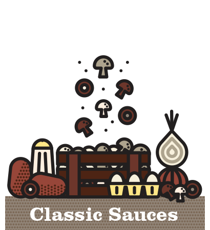 Inspired Dining Classic Sauces