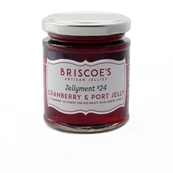 Briscoe's Artisan Jellies Cranberry & Port Jelly (130g)