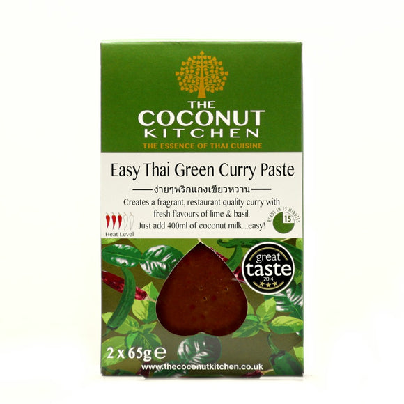 Coconut Kitchen Easy Thai Green Curry Paste (130g)