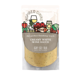 Inspired Dining Creamy White Wine Sauce (200g)