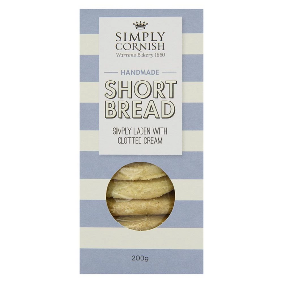 Simply Cornish Clotted Cream Shortbread (200g)